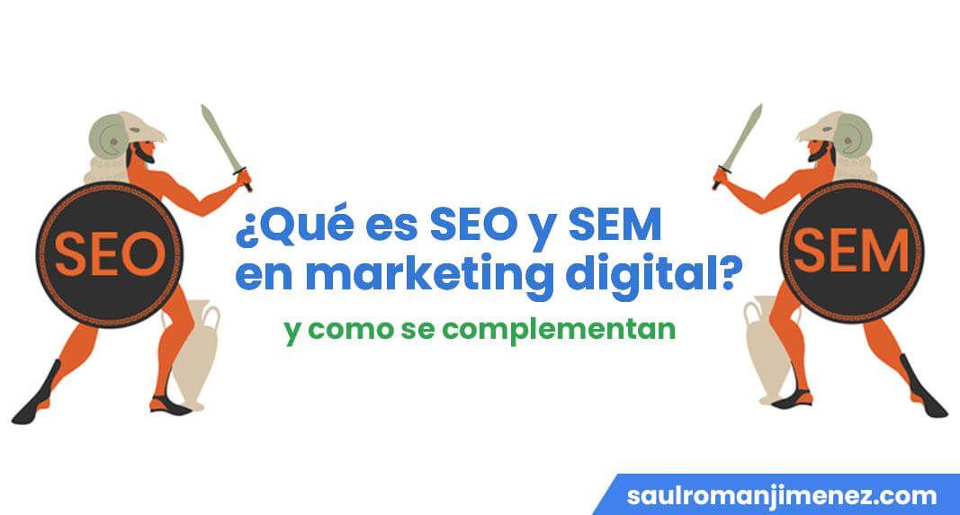 que es seo y sem marketing digital